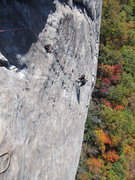 Rock Climbing Photo: Looking Glass, NC