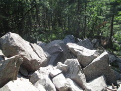 Rock Climbing Photo: Part of the Mini-Talus