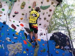 Rock Climbing Photo: west face of outdoor tower