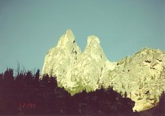 Rock Climbing Photo: Shadows.