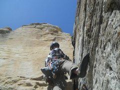 Rock Climbing Photo: Top pitch of Gunky