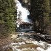 Hidden Falls (behind Jenny Lake)
