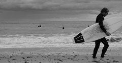 Rock Climbing Photo: Lone Surfer