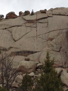 Rock Climbing Photo: Most climbed route @ Vedauwoo??  Our trip wouldn't...