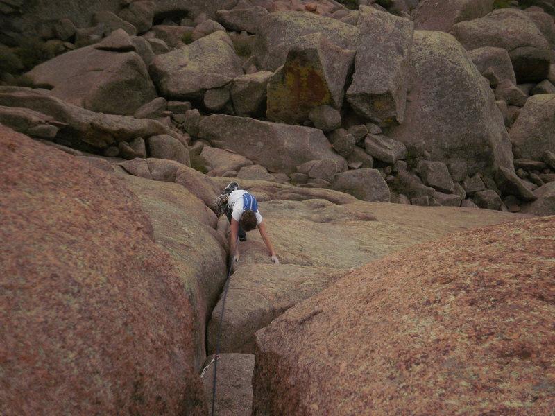 avoiding the crack?