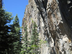 Rock Climbing Photo: Upper tier, most of it is around 150ft and VERY st...