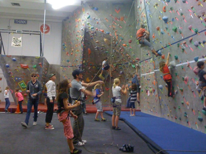 Rock Climbing Photo: Lakewood Open Wall Climbing $5.00 drop in fee to c...