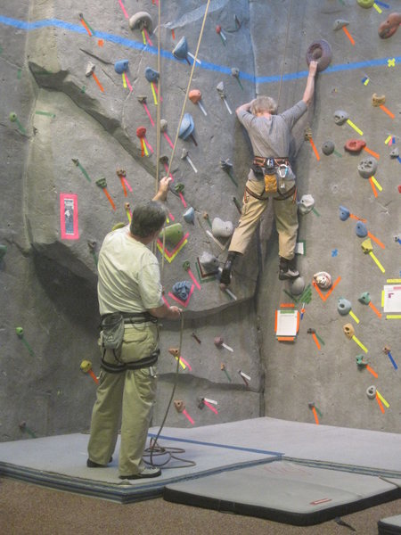 Rock Climbing Photo: Whitlock Rock Climbing