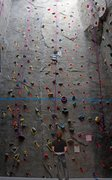 Rock Climbing Photo: Whitlock Rock Climbing Wall