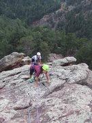 Rock Climbing Photo: Kira & Jackie follow P1.