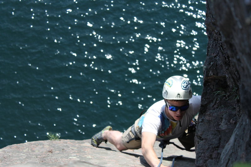 Rock Climbing Photo: Zach V on Only the Lonely