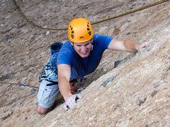 Rock Climbing Photo: Kevin leading