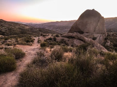 Rock Climbing Photo: Texas Canyon after sunset.
