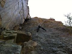 Rock Climbing Photo: narcolepsy wall 5.9+ R