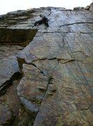 Rock Climbing Photo: goodro's wall 5.10c***