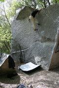 Rock Climbing Photo: south face V2 *