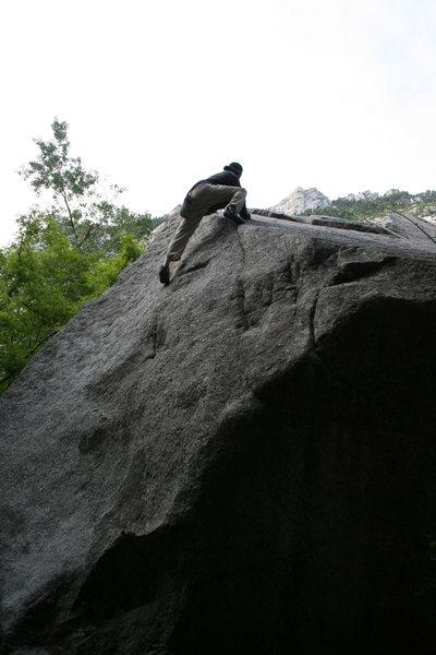 Rock Climbing Photo: classic V1 *