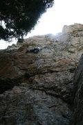 Rock Climbing Photo: challenge buttress BCC 5.9 **