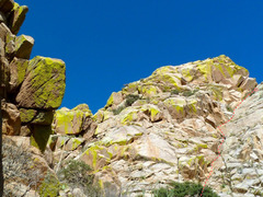 Rock Climbing Photo: The corner system on the right side of the picture...