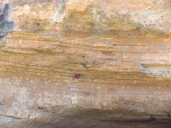 Rock Climbing Photo: expansive wall and potential