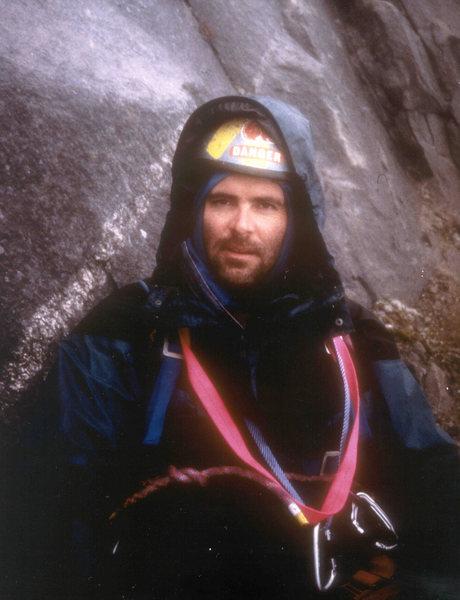 Rock Climbing Photo: Evening Sun Buttress, Mount Overlord, Baffin Islan...