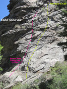 Rock Climbing Photo: East Colfax routes.