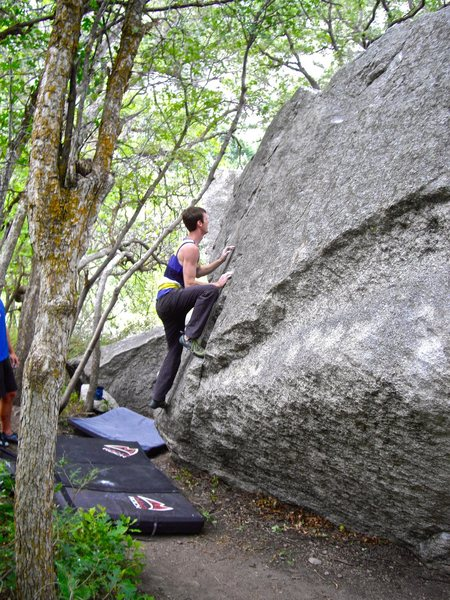 Rock Climbing Photo: You can basically walk right up it.