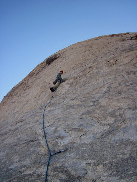 Rock Climbing Photo: 1st pitch