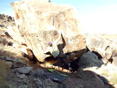 Rock Climbing Photo: Nate Brun on buck nasty v11