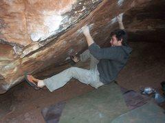 Rock Climbing Photo: Nate brun v8/9