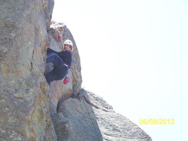 Rock Climbing Photo: West Elden...