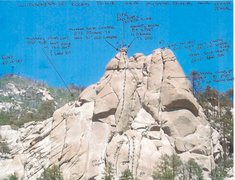 Rock Climbing Photo: Wilderness of Rocks Dome South Face