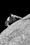 Rock Climbing Photo: jakob, post crux