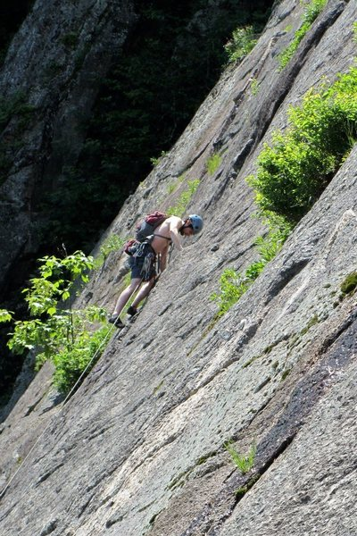Rock Climbing Photo: jeff climbing rocks