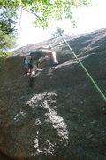 Rock Climbing Photo: Nick at the pockets