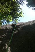 Rock Climbing Photo: Nick at the Crux