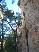 Rock Climbing Photo: The starts to What's Biting Me? (R) and Solitude (...