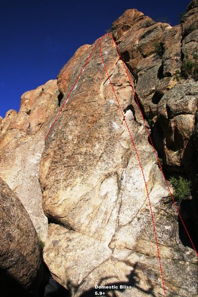 First Wave Buttress Left Topo