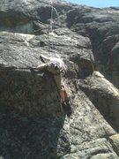 Rock Climbing Photo: Monica toproping Oh My.