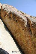 Rock Climbing Photo: Honeymoon's Over, 5.11b Topo