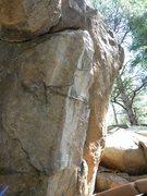 Rock Climbing Photo: V0- Trailside Egg.