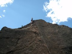 Rock Climbing Photo: First time killing 5.9+