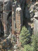 Rock Climbing Photo: Nice arete climbing