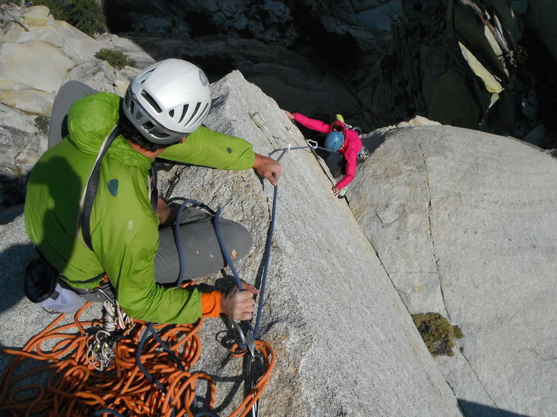 Rock Climbing Photo: Adrienne Kentner on Gemstone 5.10c