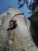 Rock Climbing Photo: Richard Shore on Vicious 5.11+