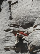 Rock Climbing Photo: Photo of myself on the FA of Monkey Do