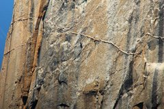 Rock Climbing Photo: crazy awesome dike on NNL, VI 5.9 A3