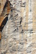 Rock Climbing Photo: the pitch before the pinnacle of hammerdom, C1 to ...