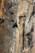 Rock Climbing Photo: El Cap, Never Never Land Solo