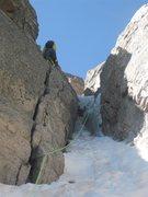 Rock Climbing Photo: Dreamweaver crux.